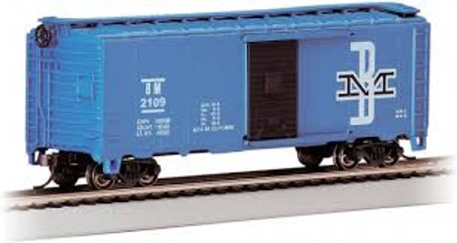 Bachmann Trains 16003 HO Scale 40' PS-1 Boxcar B&M #2109