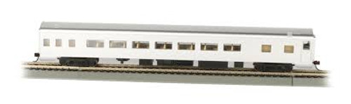 Bachmann Trains 14208 HO Scale 85' Smoothside Coach Unlttrd.Aluminum