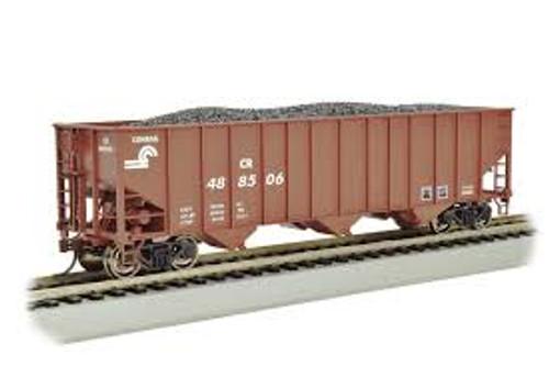Bachmann Trains 18712 HO Scale 100t 3-Bay Hopper CR #488506