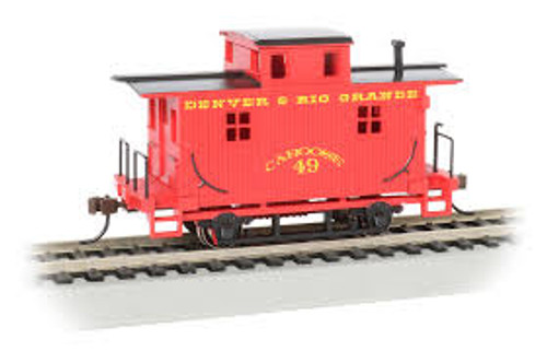 Bachmann Trains 18407 HO Scale Bobber Caboose D&RGW