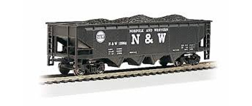 Bachmann Trains 17607 HO Scale 40' Quad Hopper N&W #12986