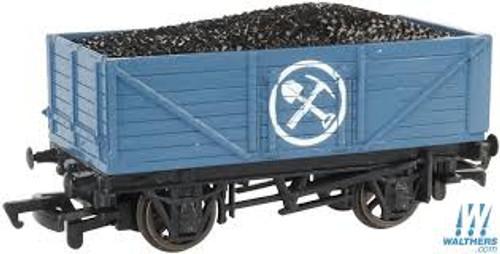 Bachmann Trains 77001 HO Scale TTT Blue Mining Wagon w/Load