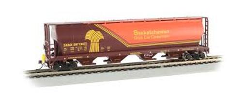 Bachmann Trains 73802 HO Scale 4-Bay Cyl.Hopper Saskatchewan