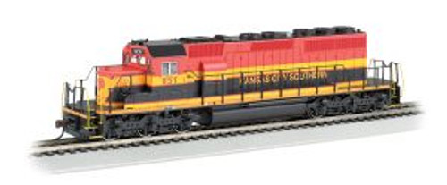 Bachmann Trains 67203 HO Scale SD40-2 Diesel KCS #651 DCC Sound