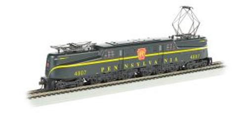 Bachmann Trains 65301 HO Scale GG-1 PRR #4807 green 1-stripe DCC Sound