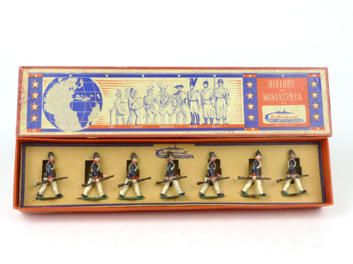 Authenticast History in Miniatures 523 Prussian Infantry Marching 1845