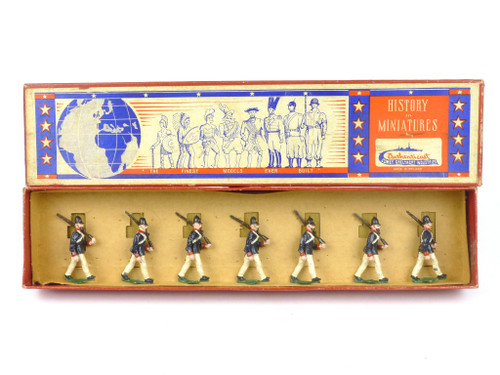 Authenticast History in Miniatures 544 Prussian Infantry Advancing 1845