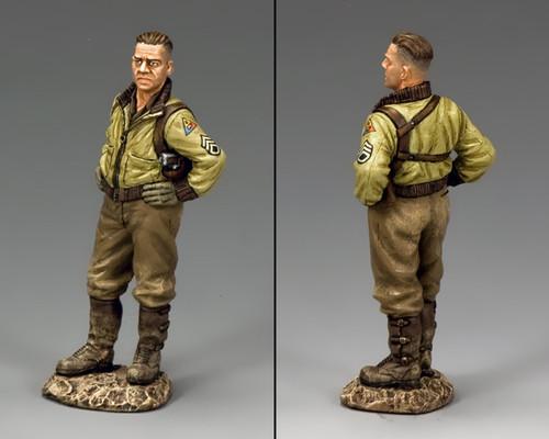 King & Country DD262 War Daddy Sherman Tank Commander American D-Day