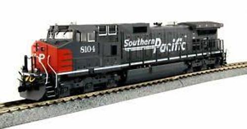 Kato Trains 376630DCC HO Scale C44-9W Diesel SP #8104 DCC