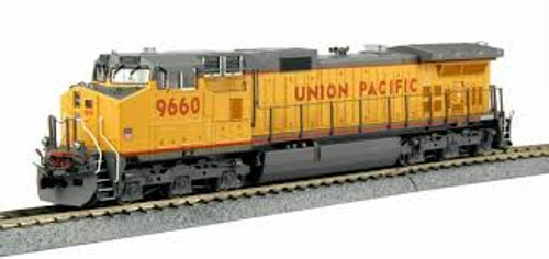 Kato Trains 376633 HO Scale C44-9W Diesel UP #9660 DCC