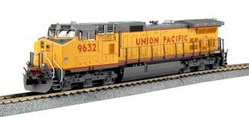 Kato Trains 376632 HO Scale C44-9W Diesel UP #9632 DCC