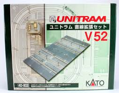 Kato Trains 40802 N Scale V52 UNITRAM Straight Track Expansion Set