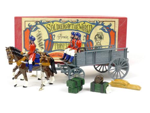 Trophy Miniatures EQ40 2nd Madras Indian Army Supply Wagon