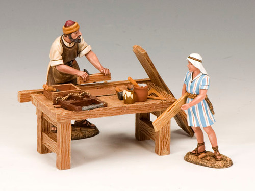 King & Country LOJ011 In The Carpenter's Shop Joseph and Jesus