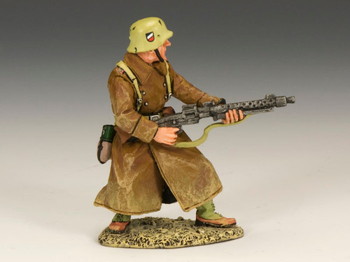 King & Country AK081 Afrika Korps Machine Gunner