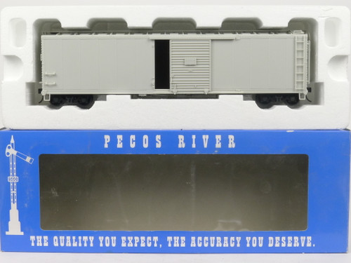 Pecos River SK-0301 Undercoated Single Door Boxcar Kit O Scale