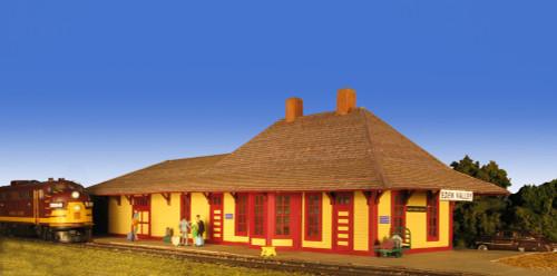 Monroe Models 2207 Eden Valley Depot HO Scale Trains Building Kit
