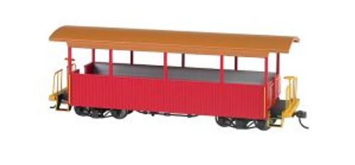 Bachmann Trains 26002 O n30 Scale Excursion Car Red w/Tan Roof