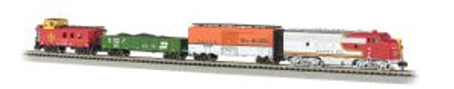 Bachmann Trains 24021 N Scale Super Chief SF Freight Set F7 Diesel
