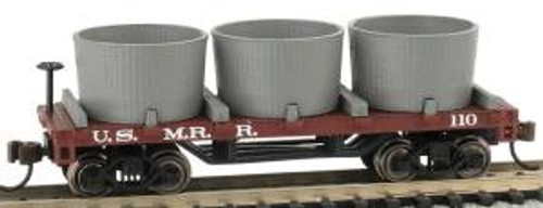 Bachmann Trains 15554 N Scale Old-Time Water Tank Car US Military RR