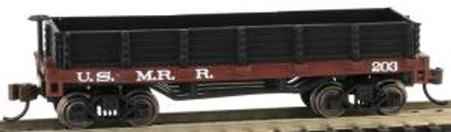 Bachmann Trains 15454 N Scale Old-Time Gondola US Military RR