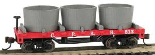Bachmann Trains 15552 N Scale Old-Time Water Tank Car CP