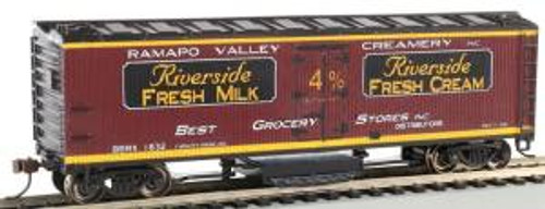 Bachmann Trains 16333 HO Scale Track Cleaning 40' Woodside Reefer Ramapo Valley