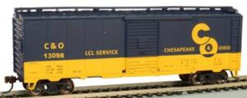 Bachmann Trains 16002 HO Scale 40' PS-1 Boxcar C&O #13098