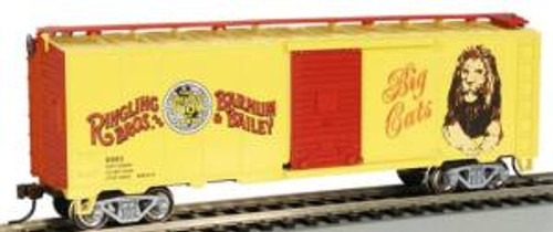 Bachmann Trains 16612 HO Scale RINGLING 40' PS-1 Boxcar Big Cats