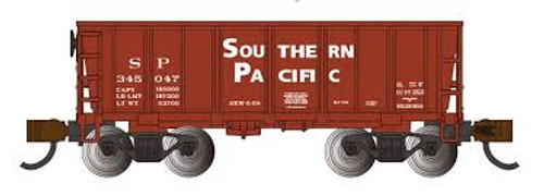 Bachmann Trains 18656 N Scale Ore Car SP #345047 oxide red