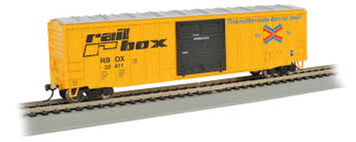 Bachmann Trains 14901 HO Scale 50' Boxcar w/ETD Railbox