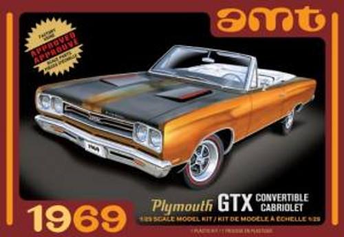 AMT Model Kits 1137 1/25 1969 Plymouth GTX Convertible 2T Skill 2