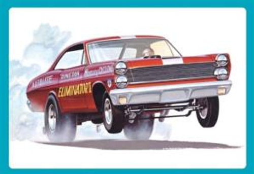 AMT Model Kits 1151 1/25 1967 Mercury Cyclone Eliminator II (Dyno Don Nicholson) Skill