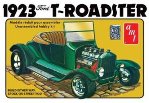 AMT Model Kits 1130 1/25 1923 Ford Model T Roadster Street Rod Series Skill 2