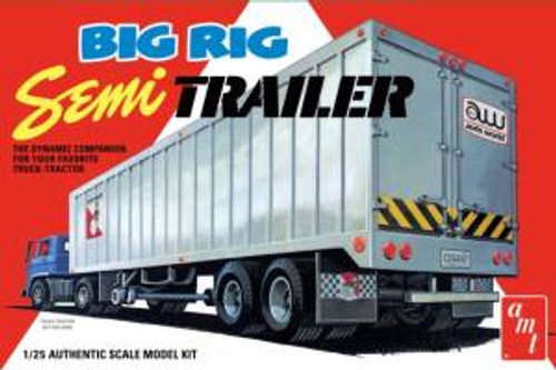 AMT Model Kits 1164 1/25 Big Rig Semi Trailer Skill 3