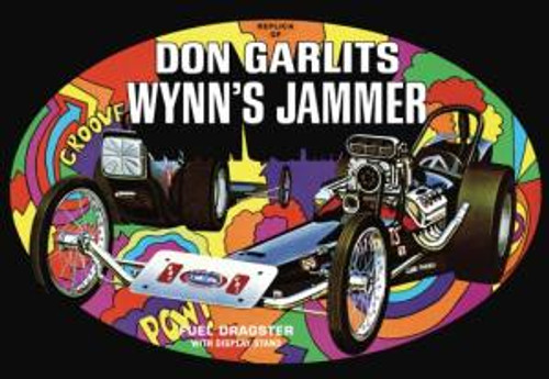 AMT Model Kits 1163 1/25 Don Garlits Wynns Jammer Dragster