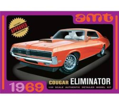 AMT Model Kits 912 1/25 1969 Mercury Cougar Orange