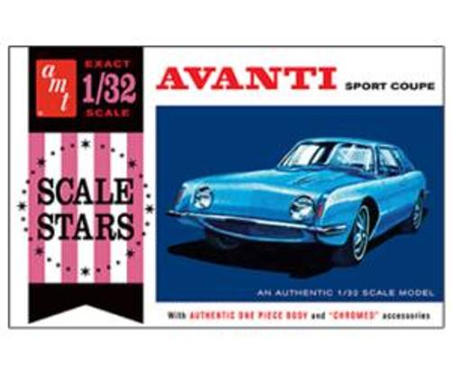AMT Model Kits 885 1/25 1963 Studebaker Avanti