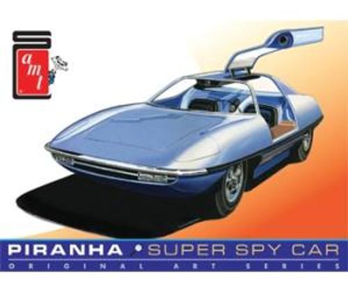 AMT Model Kits 916 1/25 Piranha Spy Car Original Art Series