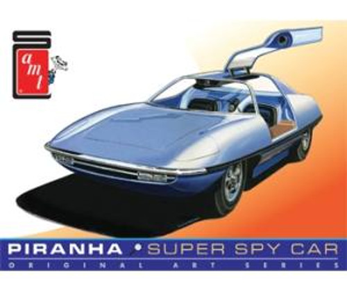 AMT Model Kits 916 1/25 Piranha Spy Car Original Art Series