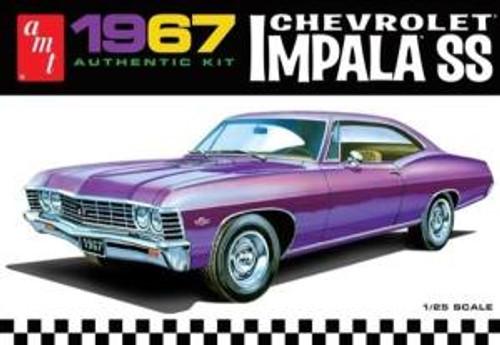 AMT Model Kits 981 1/25 1967 Chevy Impala SS (Stock)