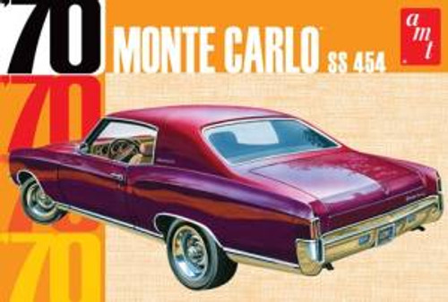AMT Model Kits 928 1/25 1970 Chevy Monte Carlo