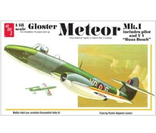 AMT Model Kits 825 1/25 Gloster Metor MK-1 Fighter
