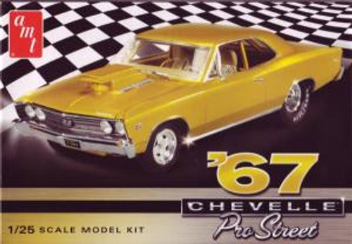 AMT Model Kits 876 1/25 1967 Chevy Chevelle Pro Street