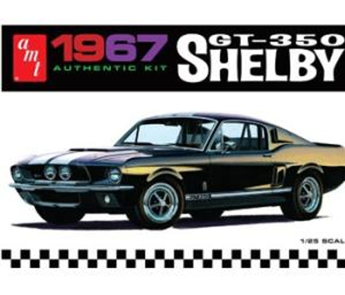 AMT Model Kits 834 1/25 1967 Shelby GT350 (Black)
