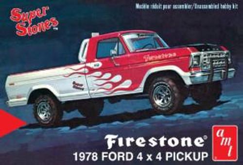 AMT Model Kits 858 1/25 1978 Ford Pickup Firestone Super Stones