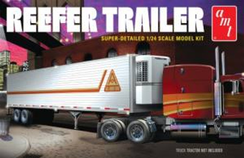 AMT Model Kits 1170 1/25 Reefer Semi Trailer Skill 3