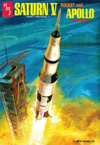 AMT Model Kits 1174 1/25 Saturn V Rocket Skill 2