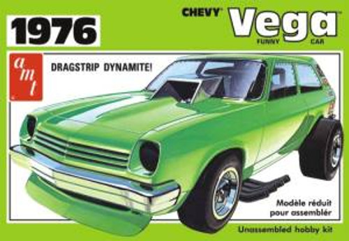 AMT Model Kits 1156 1/25 1976 Chevy Vega Funny Car Skill 2