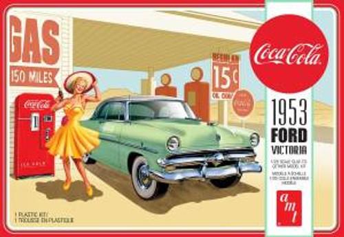 AMT Model Kits 1146 1/25 1953 Ford Victoria Hardtop w/Coca-Cola Machine 2T Skill 3